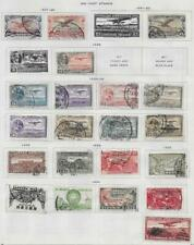 21 Mexico Air Post Stamps from Quality Old Antique Album 1927-1935