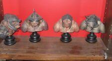 Collection des 4 trolls  statues seigneur des anneaux   Sideshow  Weta LOT