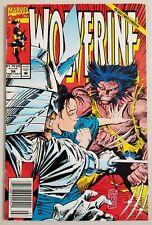 Wolverine #56 Modern Age 1992 Marvel Comic Mark Silvestri X-Men