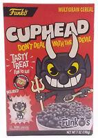 Funko Pop FunkO's Cuphead Devil Gamestop Exclusive Cereal with Mini Pop In Hand