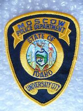 Patch- University of Idaho Moscow Idaho US Police Patch (NEW* )