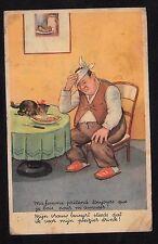 C1960's Comic/Illustrator Card - 'Hangover'