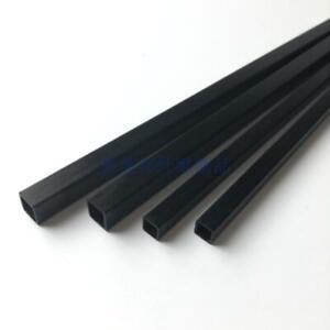 2Pcs 50cm Carbon Fiber Tube Outer Square Inner Square Pipe Tube Light weight