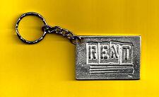 "Idina Menzel ""RENT"" Anthony Rapp / Adam Pascal 1996 Broadway Key Chain"