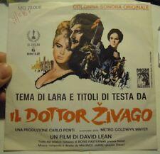 Disco 45 GIRI IL DOTTOR ZIVAGO COLONNA SONORA ORIGINALE (L-5)