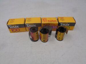 Mixed Lot of Expired Film Kodak 35mm Tmax 100 125 400