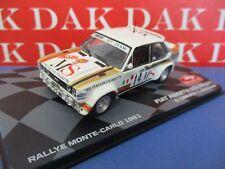Die cast 1/43 Modellino Auto Fiat 131 Abarth MS Rally Monte Carlo 1981 D.Cerrato