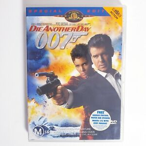 James Bond 007 Die Another Day DVD Movie Region 4 Free Postage - Spy Action