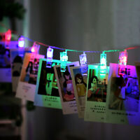 1.5M 3M 6M Photo Clip LED String Lights For Wedding Home Decoration Fairy Lights