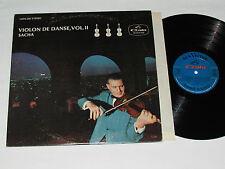 SACHA Violon de Danse Volume 2 LP RCA Gala Vinyl Canada CGPS-266 VG/VG Violin