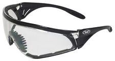 Global Vision Python Clear Foam Padded Safety Glasses Sports Wrap Motorcycle Z87