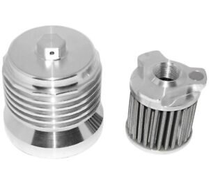 PC Racing PCS2 FLO Spin On Stainless Steel Oil Filter
