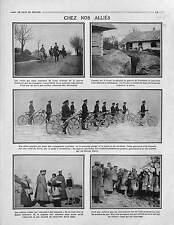 Imperial Russia Army Cossacks Prussia British Army Bike Austria Captive 1915 WWI