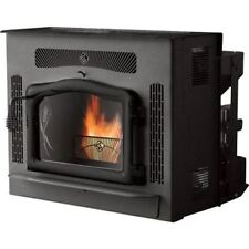 Crossfire Flex-Fuel Stove with Fireplace Insert and Black Door