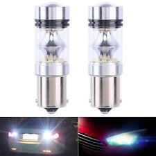2X 1156 100W 20SMD High Power Car Reverse Lamp Day Running Led Light Bulb White