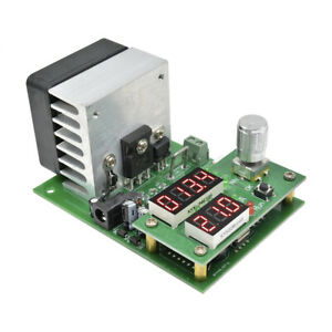 Constant Current Electronic Load 9.99A 60W 30V Discharge Battery Capacity Tester