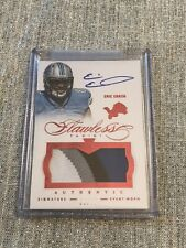 2014 Panini Flawless /15 Eric Ebron #5 RPA Rookie Patch Auto Colts