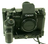 CANON F-1 F-Rb FRB winder CR3-FN unique finder Sucher vintage Canon product rare