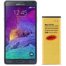 Batterie de Haute Capacité 4200 mAh pour Samsung Galaxy Note 4 - Doré