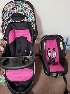 baby trend stroller with car seat