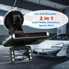2 in 1 720P Anti Radar Detector Car DVR Dash Cam Radar Speed Detector