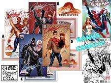 Amazing Spider-Man #2 Mary Jane J Scott Campbell Exclusive Variant Set of 4 COA+