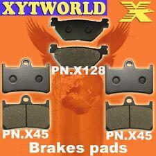 2 PAIR 2006-2014 YAMAHA XV 1900 FRONT EBC HH RATED BRAKE PADS /& PINS