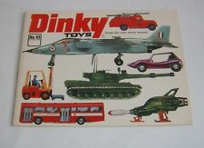 Rare US Dinky Toys Catalogue No. 10, No Price, Dated May 1974, - Superb.