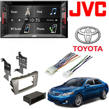 Jvc Double Din Car Stereo 6.2 Touchscreen Dash Kit 2007-2011 Toyota Camry Silver