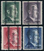 ÖSTERREICH, MiNr. 693-696 II, postfrisch, II. Wahl, gepr. Soecknick, Mi. 500,-