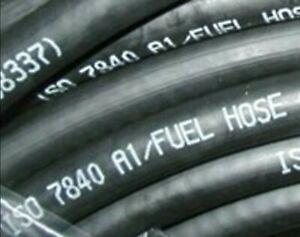 Fire Resistant Marine fuel hose ISO7840 A1, 19mm bore, choose length  1-57805