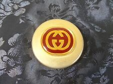 "Authentic Vintage Gucci Solid Brass Paper Weight ""Free Shipping"""