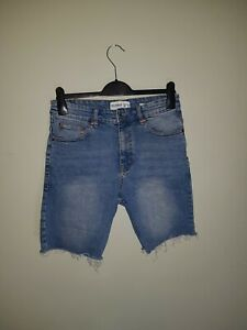 Pull And Bear Denim Shorts, Slim fit, EUR size 40