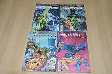 lot 4 albums DC Universe 58 et 59 - DC Trinity 5 et 6 - DC Comics