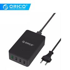 ORICO 40W 5 Ports Quick Charge USB Desktop Charger Travel Wall Adapter EU Plug