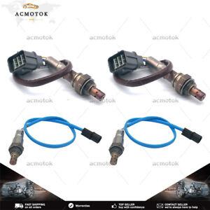 Set of 4 Upstream+Downstream Oxygen Sensor For 2007-2008 Acura TL 3.2L 3.5L