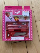 1998 Barbie Special Collection KEN TOOLBOX SET #21275 New Unopened