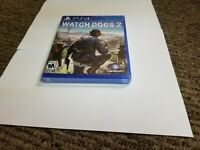 Watch Dogs 2 (Sony PlayStation 4, 2016) PS4 NEW