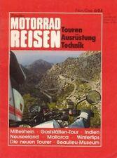 TF8406 + Test BMW K 100 RT + Test YAMAHA XV 500 SE + MOTORRAD REISEN 6/1984