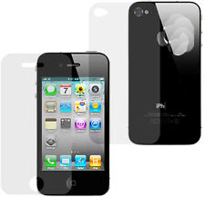 5X Full Body Clear Ultra Thin Screen Protector For iPhone 4s 4 4th 4GEN 4g