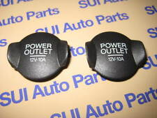 Ford Mustang Expedition Focus 12v Power Outlet Plug Cover Cap NEW OEM s