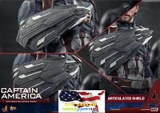 "1/6 Avenger Infinity War Captain America Shield x1 for 12"" Figure Hot Toys ❶USA❶"