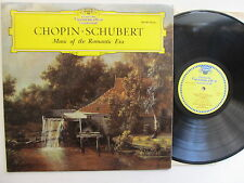 "Chopin : Schubert 12"" Lp  Music Of The Romantic Era - DG - 004 407 England Mono"