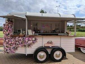 Horse Trailer Conversion  Business Mobile Bar Catering coffee gin prosecco