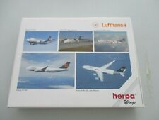 1:500  Herpa Wings 516679 Lufthansa 5 Model Set Collectors Box Limited