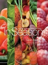 In Season Cooking with Vegetables and Fruits Book Sarah Raven