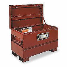 Jobsite Chest, Steel, Brown, Jobox, 1-653990