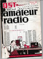 Vintage February 1949 QST Monthly Magazine Publication Of The ARRL  USED