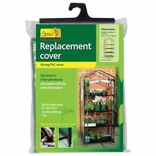 Gardman 4 Tier Greenhouse Growhouse Heavy Duty PVC Replacement Cover