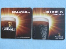 Beer Mat Coaster: Guinness Draught <> Dicover Delicious Darkness <> Made Of MORE